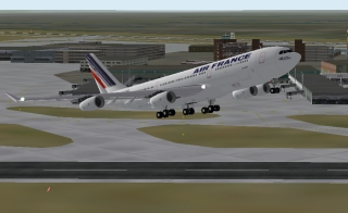 Airbus A340 Air France (Thomas Kwong)